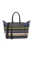 Splendid Salinas Weekender Bag Navy Stripe