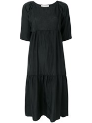Tela Midi T Shirt Dress Black