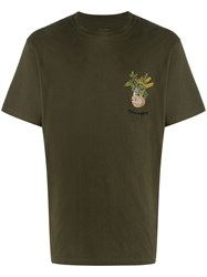 Mhi Maharishi Plant Embroidered Boxy T Shirt 60