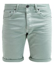 Jack And Jones Jack And Jones Jjirick Denim Shorts Granite Green Mint