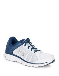 Under Armour Micro G Assert 6 Lace Up Sneakers White