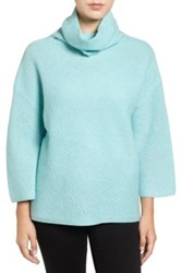Halogen Wool And Cashmere Sweater Blue