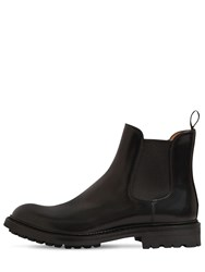 Church's 20Mm Genie Brushed Leather Boots Black