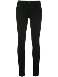 Rag And Bone Jean Skinny Jeans Black