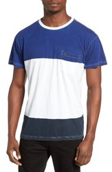 Rvca Men's Block Down Pocket T Shirt