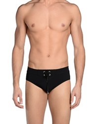 Sundek By Neil Barrett Bikini Bottoms Black