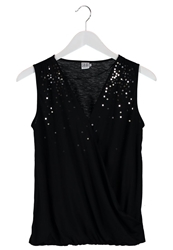 Saint Tropez Top Black