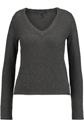 James Perse Cotton Cashmere And Wool Sweater Gray
