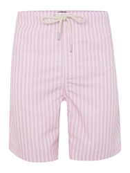 Howick Butcher Stripe Swim Short Pink