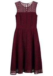 Mintandberry Jumper Dress Windsor Wine Dark Red