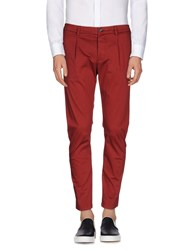 L W Brand Trousers Casual Trousers Men Maroon