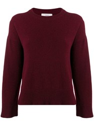 Pringle Of Scotland Slim Fit Cashmere Sweater Red