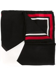 Givenchy '17' Scarf Black