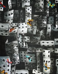 Fornasetti Oblong Scarves Grey
