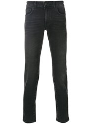 Department 5 Classic Skinny Jeans Cotton Spandex Elastane Grey
