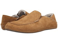 Olukai Moloa Slipper Tobacco Tobacco Slippers Brown