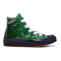 J.W.Anderson Jw Anderson Green Converse Edition Patent Chuck Taylor '70 Toy Hi Sneakers