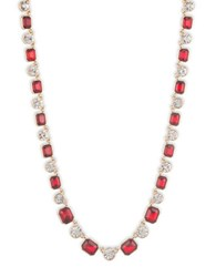 Anne Klein Siam Necklace Red