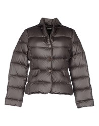 Gold Case Coats And Jackets Down Jackets Women Grey