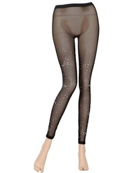 Pierre Mantoux Anita Swarovski Embellished Leggings