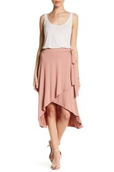 14Th And Union Ballet Wrap Skirt Petite Pink