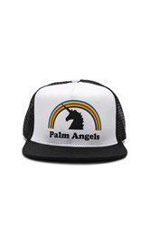 Palm Angels Unicorns Do Exist Cap White