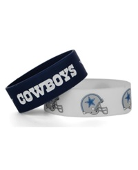 Aminco Dallas Cowboys Wide Bracelet 2 Pack
