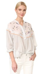 Free People Hearts And Colors Top Neutral