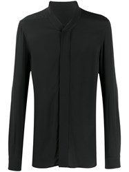 Rick Owens Placket Long Line Shirt 60