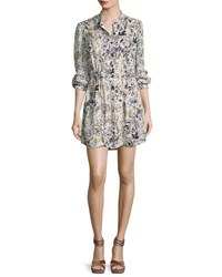 Haute Hippie The Double Down Snap Button Layering Dress Multi
