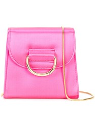 Little Liffner D Tiny Box Shoulder Bag Pink And Purple