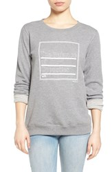 Women's Rvca 'The Balance Of Opposites' Graphic Sweatshirt