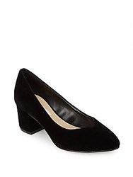 Saks Fifth Avenue Amaya Ankle Strap Pumps Black