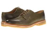 Frye James Crepe Oxford Olive Soft Vintage Leather Men's Lace Up Casual Shoes