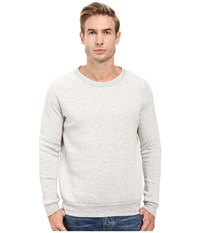Alternative Apparel Champ Eco Fleece Sweatshirt Eco Oatmeal Men's Long Sleeve Pullover White