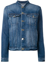 Frame Denim Classic Jacket Women Cotton M Blue