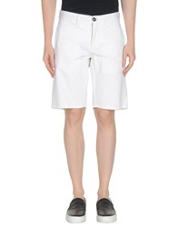 Incotex Red Bermudas White