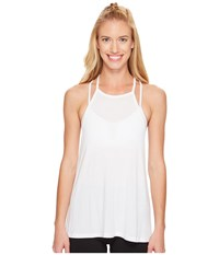 Beyond Yoga Lay Low Tank Top White Women's Sleeveless