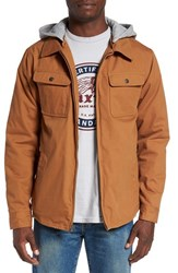 Brixton Men's 'Canton' Jacket With Detachable Hood