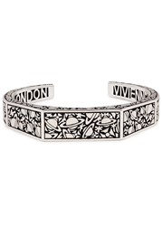 Vivienne Westwood Angelo Silver Tone Bangle