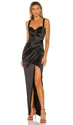 Nookie X Revolve Slay Gown In Black.