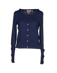 Juicy Couture Cardigans Blue