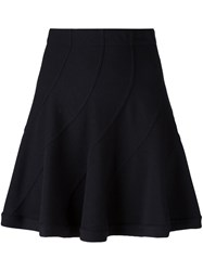 Iro Pleated Short Skirt Black