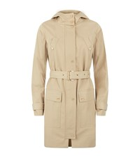 Michael Michael Kors Hooded Raincoat Female