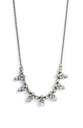 Sorrelli Twinkling Thistle Crystal Necklace Purple