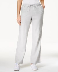 Charter Club Linen Pants Only At Macy's Mineral Ice
