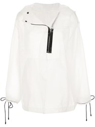 Osklen Over Glass Cape White