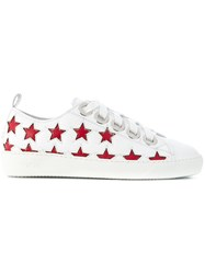 N 21 No21 Low Top Star Sneakers White
