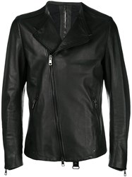Tom Rebl Asymmetric Blazer Jacket Black