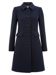 Hobbs Wool Gweneth Coat Navy